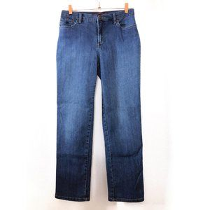 Gloria Vanderbilt Womens 6 Blue High Waisted Jeans